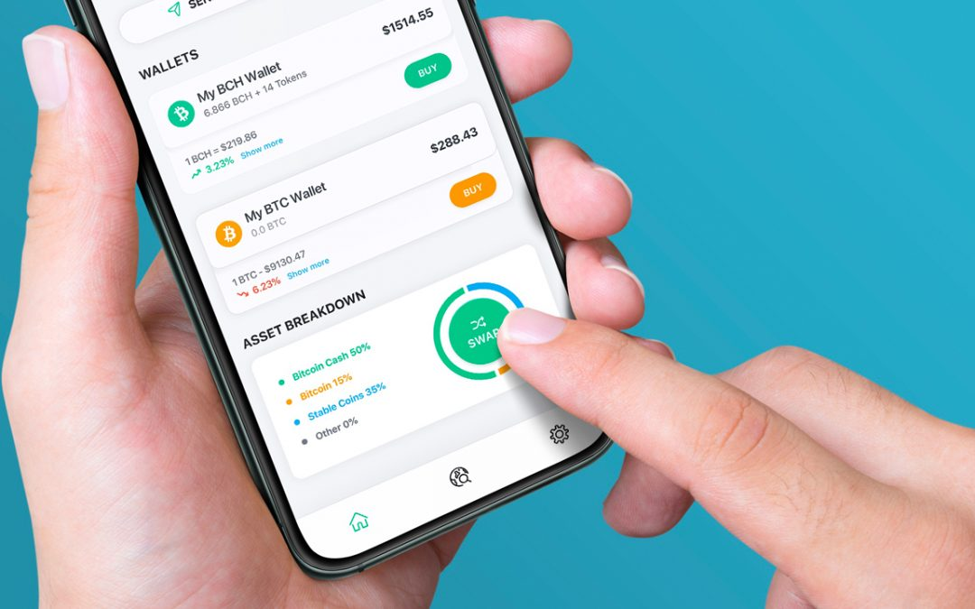 Bitcoin.com Wallet lanza un nuevo desglose de cartera y características de intercambio de Stablecoin