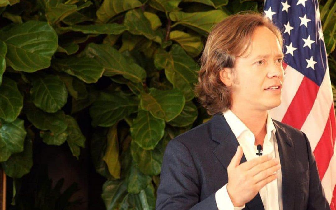 El empresario de Bitcoin Brock Pierce se une a las elecciones presidenciales de 2020 en EE. UU.
