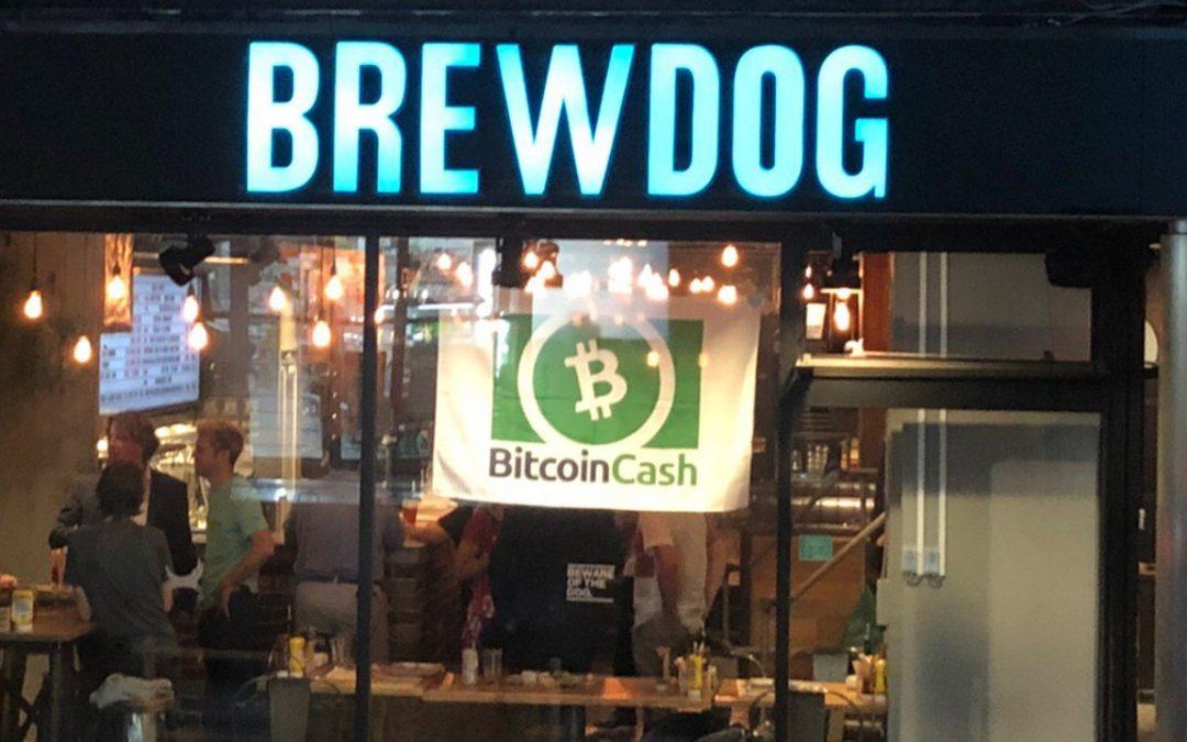 Brewdog Tokyo acepta pagos en efectivo de Bitcoin: el encuentro local de BCH se reúne para celebrar