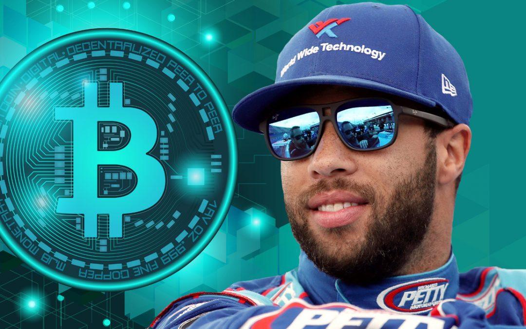 El popular piloto de NASCAR Bubba Wallace lucirá el logotipo de Bitcoin mientras compite